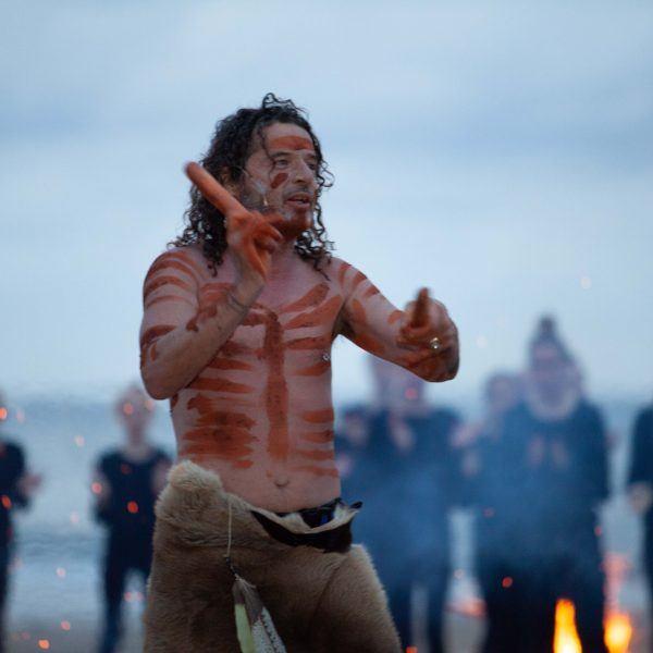 David Gough inmapali,openingTen Days on the Island Festival in 2021