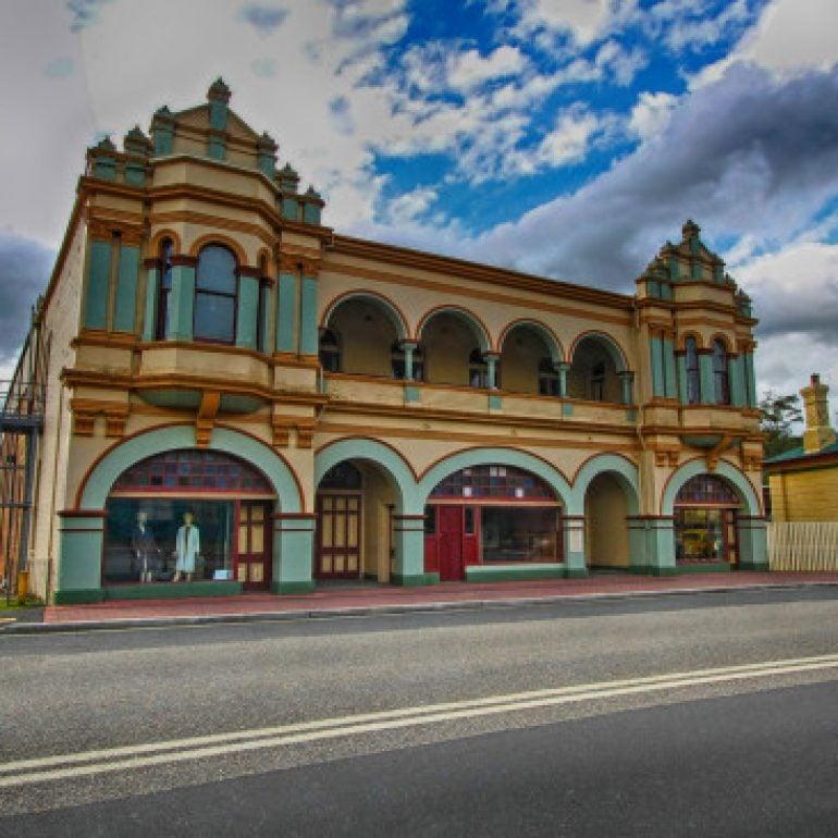 The Gaiety Theatre, Main Street, Zeehan, Tasmania
