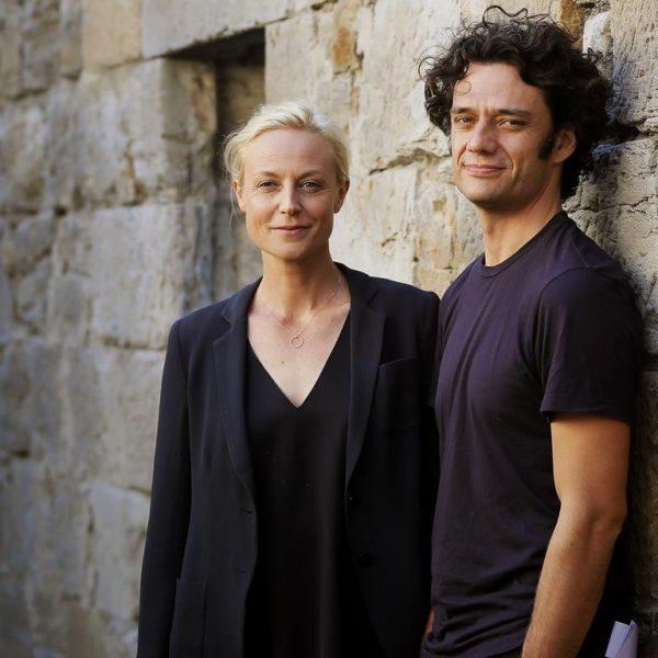 Ben Winspear and Marta Dusseldorp